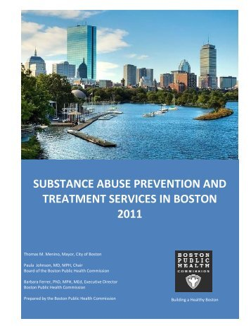 substance abuse prevention and treatment services in boston 2011