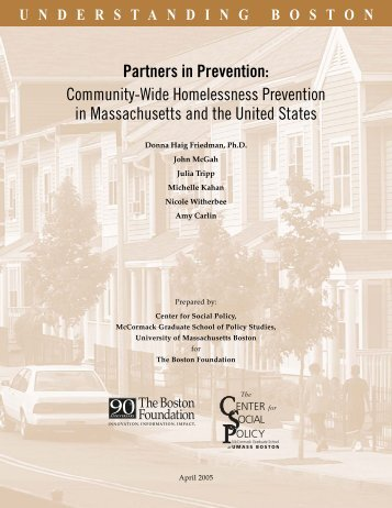 Partners in Prevention - University of Massachusetts Boston