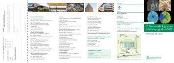 7. Neuroradiologisches Herbstsymposium 2012