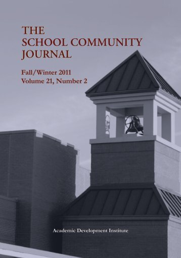 Fall/Winter 2011 Volume 21, Number 2 - Academic Development ...