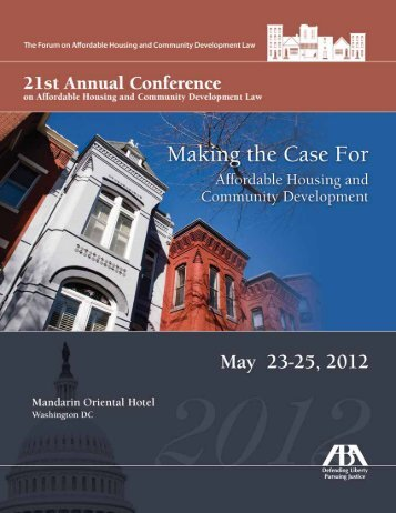 Forum on Affordable Housing and Community Development Law ...