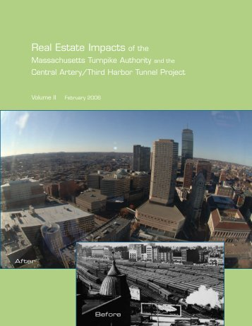 Real Estate Impacts of the Massachusetts - MassDOT