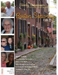 Elderly Commission - City of Boston