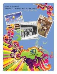 40 celebrating forty years of student success - Leeward Community ...