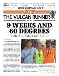 BIRMINGHAM/BOSTON 2012 - Birmingham Track Club