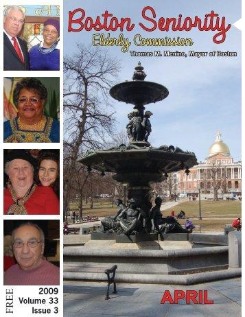 April - Volume 33, Number 3 - City of Boston