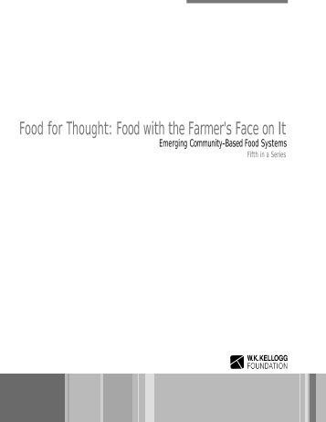 Food with the Farmer's Face on It - Crossroads Resource Center