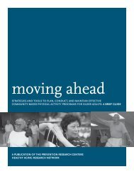 Community-Based Physical Activity Programs For Older Adults: A ...