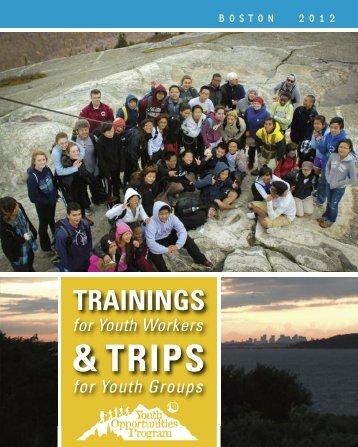 & TRIPS - Appalachian Mountain Club