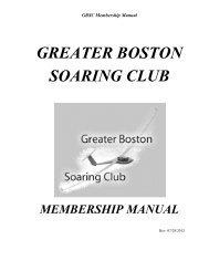 4.3 Flight Line Operations - Greater Boston Soaring Club
