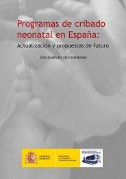 Programas de cribado neonatal en España: