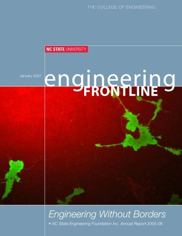 FRONTLINE - College of Engineering - North Carolina State University