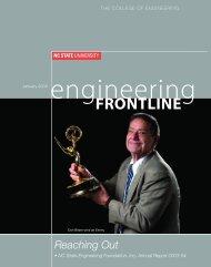Engineering Frontline - College of Engineering - North Carolina ...