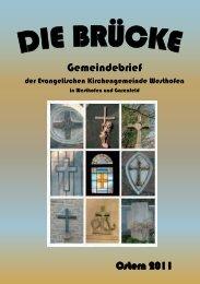 Konfirmationen in unserer Gemeinde - evangelische ...