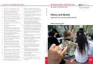 History and Identity - DVV