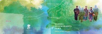 financials 2010-2011 - Global Greengrants Fund