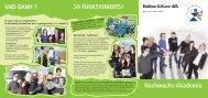 Nachwuchs-Akademie - Kellner & Kunz AG