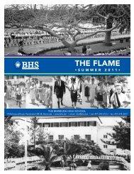The Flame 2011 - Bermuda High School