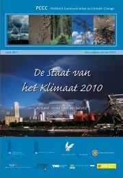 De Staat van het Klimaat 2010 - Planbureau voor de Leefomgeving