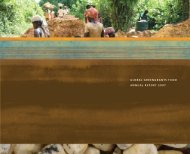 2007 Annual Report PDF - Global Greengrants Fund
