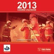 Course Calendar 2013 - Falck