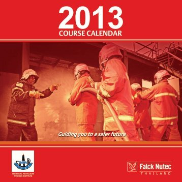 Course Calendar 2013 - Falck