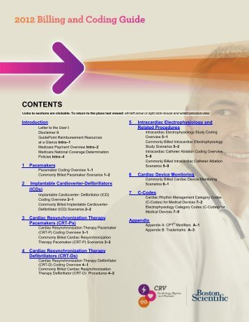 Reference Guide To Pacemakers, ICDs, And Leads - Boston ...