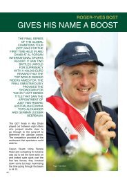 gives his name a boost - roger-yves bost - Horse Times