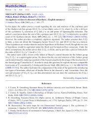 An algebraic version of a theorem of Kurihara.