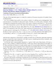 MR2207234 (Review) 11F33 (11F80 11F85 11R23) Emerton ...