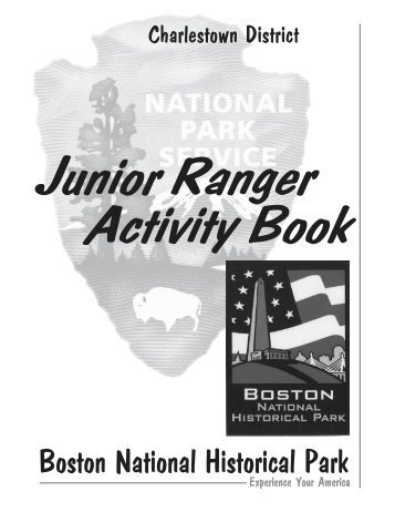 Junior Ranger Activity Book - National Park Service