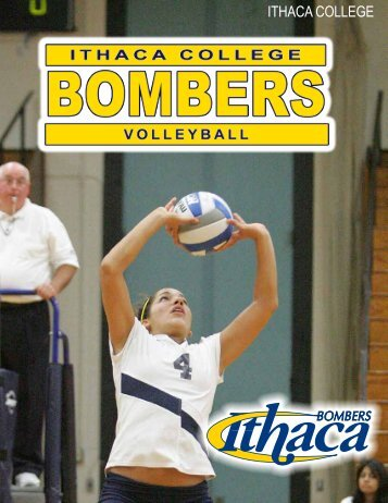 ITHACA BOMBERS VOLLEYBALL Record Book - Ithaca College ...