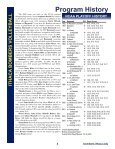 ITHACA BOMBERS VOLLEYBALL Record Book - Ithaca College ... - Page 5