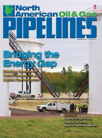 January 2012 - North American Oil & Gas Pipelines