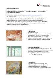 Punkt.Systeme – Vom Pointillismus zum Pixel (16.06. – 30.09.2012)