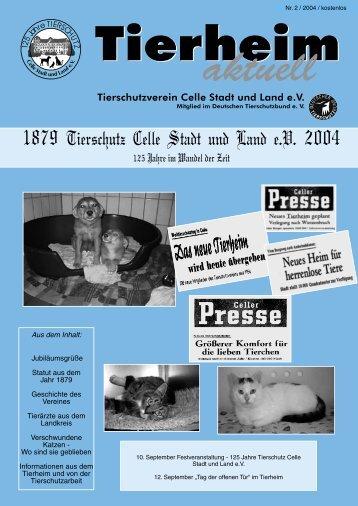 Das Tierheim Celle vermittelt Freunde für`s Leben - Tierschutz Celle ...