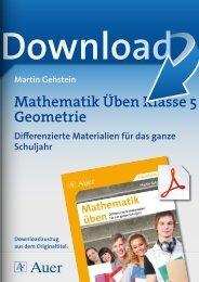 Mathematik Üben Klasse 5 Geometrie - Netzwerk Lernen