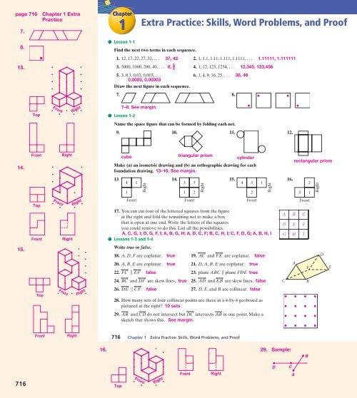 フレッシュ 7 2 Skills Practice Similar Polygons Answers With ...
