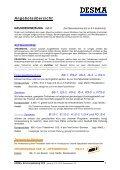 Schulungskatalog 2012 - bei der DESMA - Seite 3