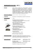 Schulungskatalog 2012 - bei der DESMA - Seite 6