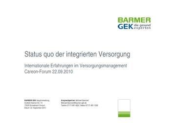 Prozessebene - careon: GESUNDHEITSAKTE.DE