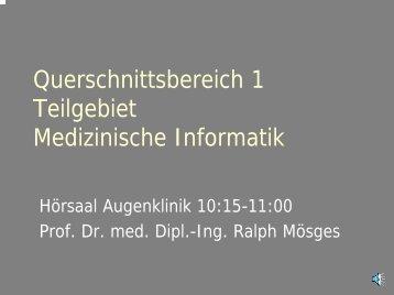 Qualitätssicherung, BQS - Universität zu Köln