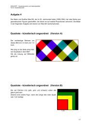 Aufgabe 4 Quadrate - künstlerisch angeordnet (Version A) Quadrate ...