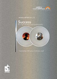 Annual Report 2011-12 - Jindal Stainless