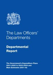 4. The Law Officers' Departments - Serious Fraud Office
