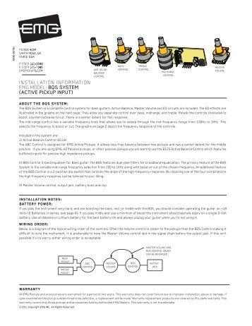 bqs system - Electric Guitar Pickups