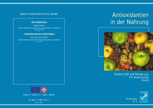 Antioxidantien in der Nahrung