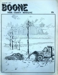 Boone: Your County Magazine Vol 4 Issue 3