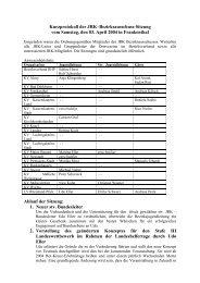 Protokoll - DRK Bezirksverband Rheinhessen-Pfalz