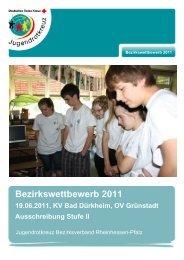 JRK Bezirkswettbewerb 2011 Stufe II - DRK Bezirksverband ...